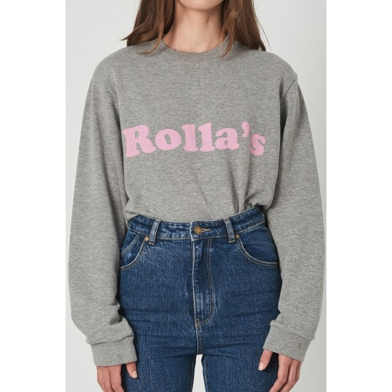 THE HEATHER SLOUGH LOGO SWEATER