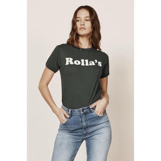 90'S GREEN ROLLA'S BIG LOGO TEE
