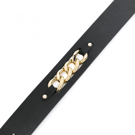 THE BLACK GOLD TORO CHAIN HIP BELT
