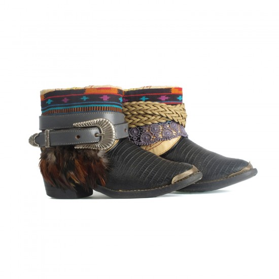 30 THE WESTERN SNAKE JUNKIE BOOTS