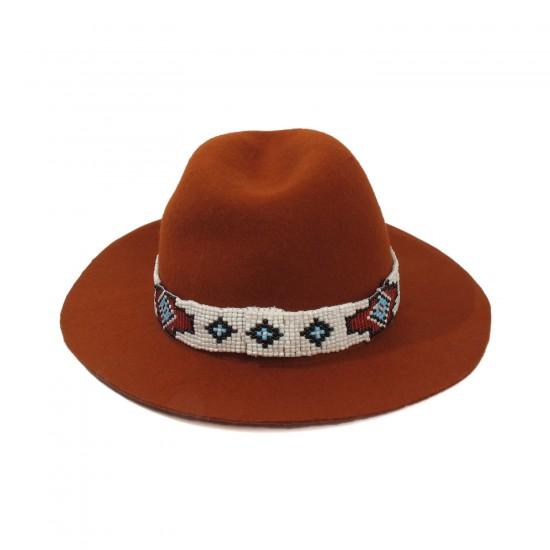 THE SAN MIGUEL NAVAJO FELT HAT