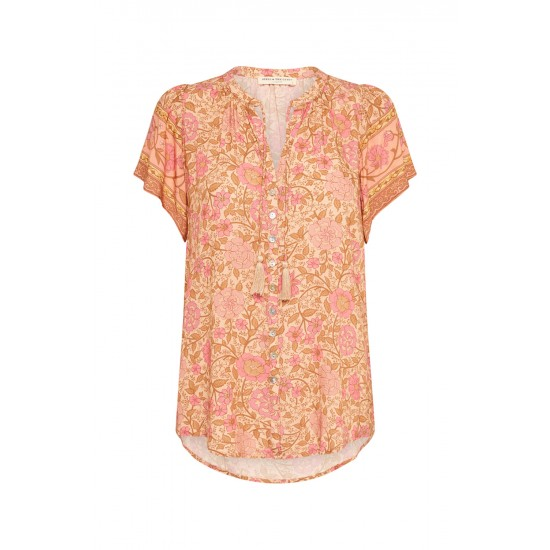 THE LOVE STORY SHORT SLEEVE BLOUSE
