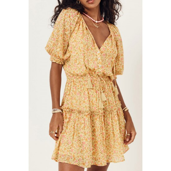 THE DAISY YELLOW RAE PLAYDRESS